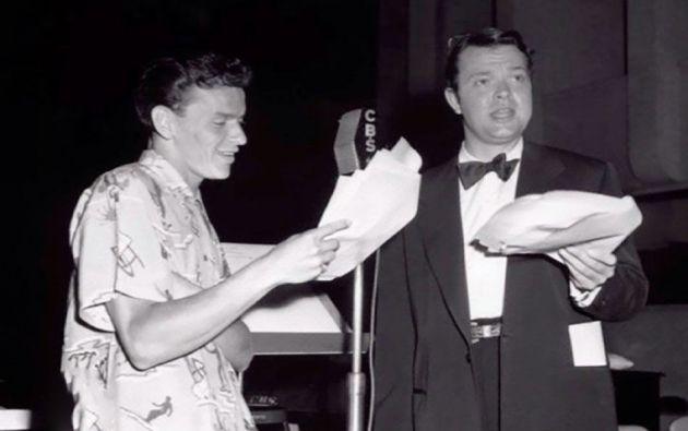 Frank Sinatra fue el padrino de una de sus hijas.