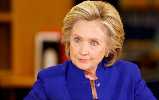 Hillary Clinton, Secretaria de Estado de los Estados Unidos. Tiene una hija, Chelsea Victoria, con el expresidente Bill Clinton.