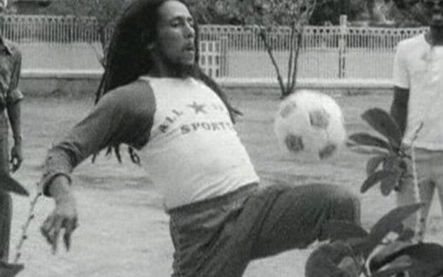 Bob era vegetariano y amante del fútbol.