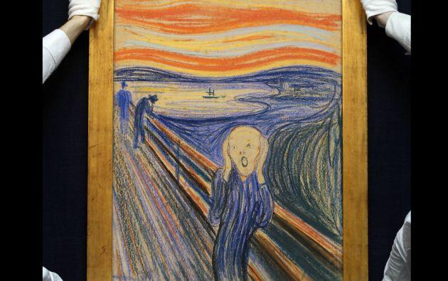 """4. Edvard Munch, """"El Grito"""". 119,92 millones de dólares en Sotheby's, Nueva York, el 2 de mayo de 2012."""