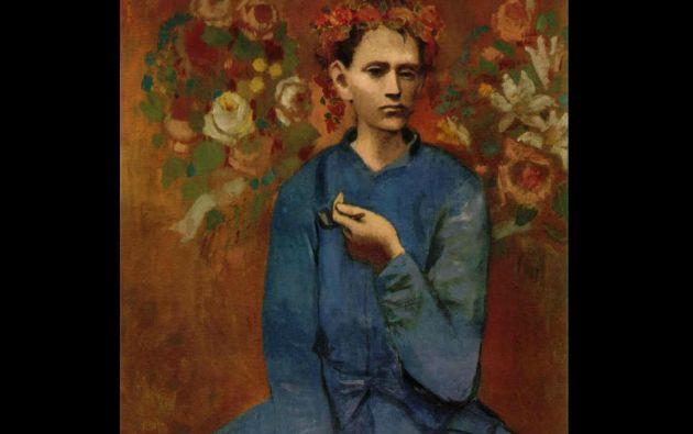 """7. Pablo Picasso, """"Muchacho con pipa"""". 104,16 millones de dólares en Sotheby's Nueva York el 5 de mayo de 2004."""