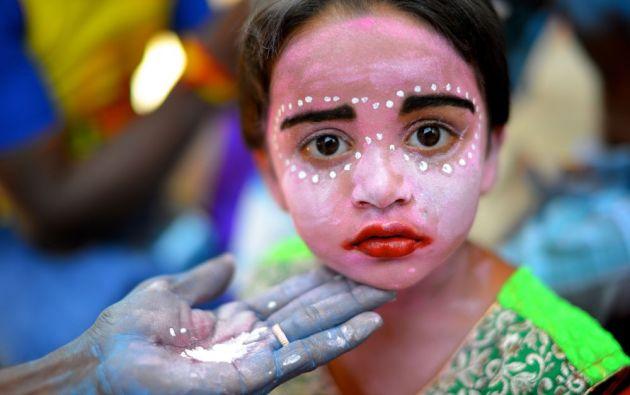 Festival Angalamman se celebra todos los años en un pequeño pueblo llamado Kaveripattinam en Tamil Nadu./ AASHIT DESAI