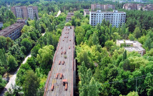 Pripyat, una ciudad de cerca de 50.000 personas, tuvo que ser totalmente abandonada luego del desastre de Chernobyl en 1986. FOTOS:  recreoviral.com.