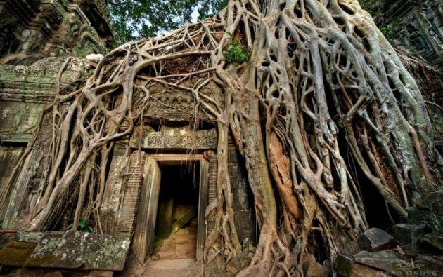 Angkor Wat en Camboya. Foto:  Pietro Bevilacqua