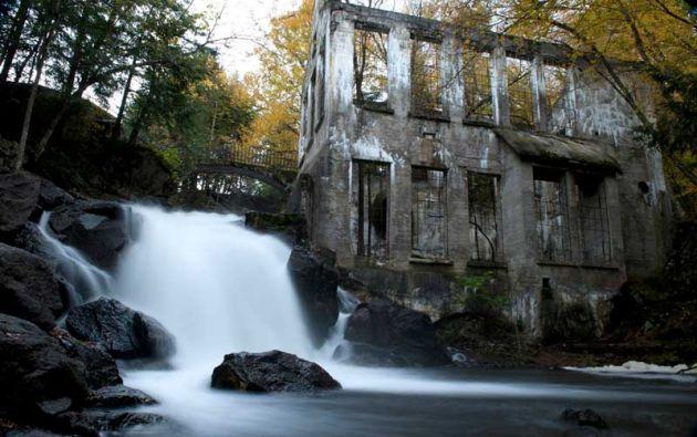 Molino abandonado. Oeste de Quebec, Canadá. foto Dan Brien