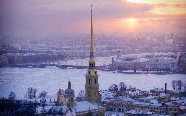 Catedral de San Pedro y San Pablo, San Petersburgo - Rusia.
