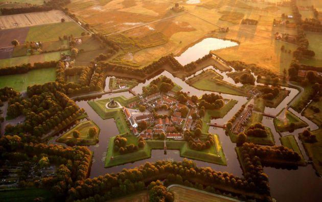 Fortaleza de Bourtange en Vlagtwedde - Holanda.