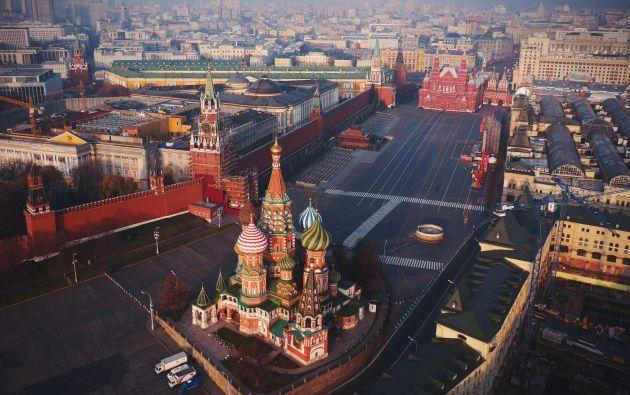 Plaza Roja de Moscú - Rusia.