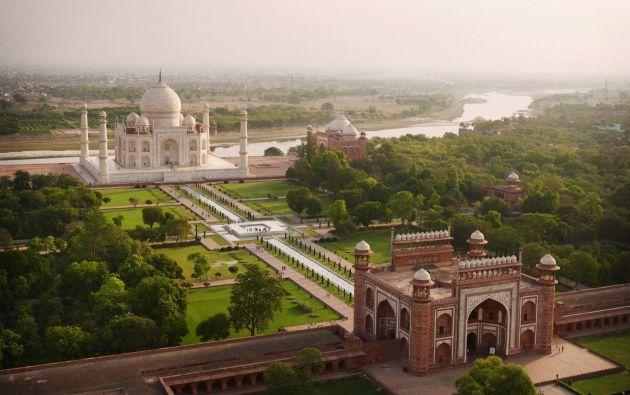 Taj Mahal en Agra - India.