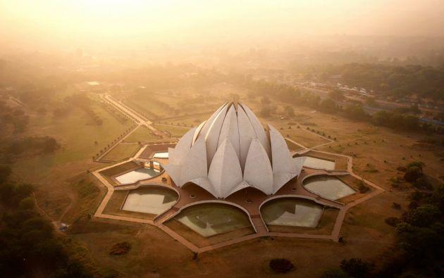 Templo del Loto en Nueva Delhi – India.