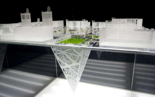 Earthscraper: México. Arquitectos del estudio BNKR Arquitectura del DF diseñaron un alucinante rascacielos de 65 pisos con forma de pirámides que se extiende 300 metros bajo tierra.