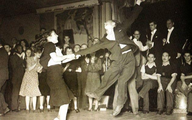 Competencia de Jitterbug. 1939