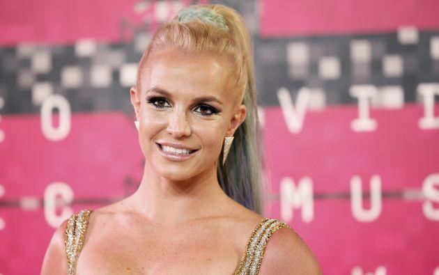 Britney Spears también estuvo presente en la entrega de los famosos premios.