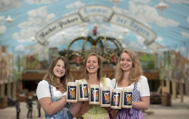 Se espera que millones de bebedores de cerveza de todo el mundo para asistir a la fiesta de la cerveza Oktoberfest. Foto: REUTERS
