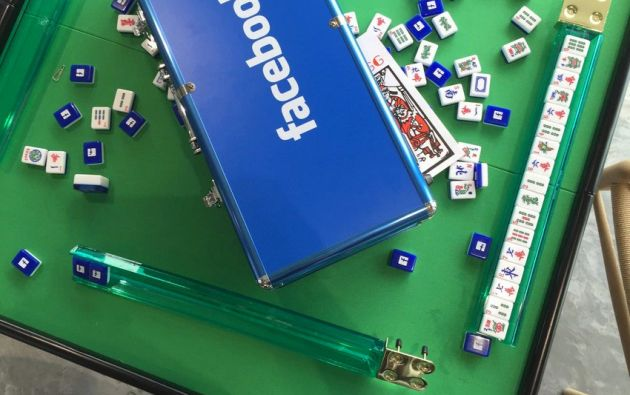 Facebook mahjong. Foto:theinsighters