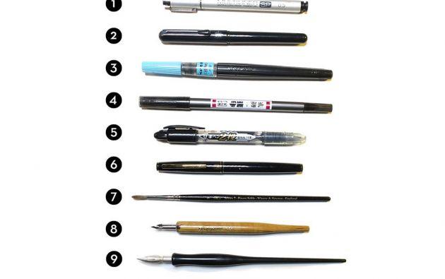 Herramientas utilizadas por ilustradores