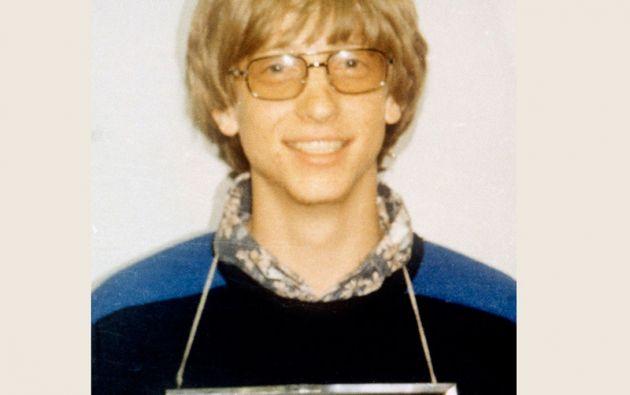 BILL GATES. El fundador de Microsoft aparece en una ficha policial de la Policía de Albuquerque por una violación de tráfico (1977)