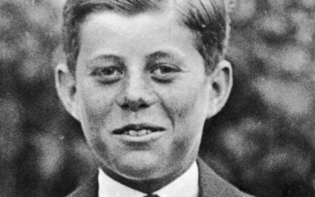 JOHN F. KENNEDY. Este retrato de 1927 muestra al joven futuro presidente de Estados Unidos a sus 10 años.