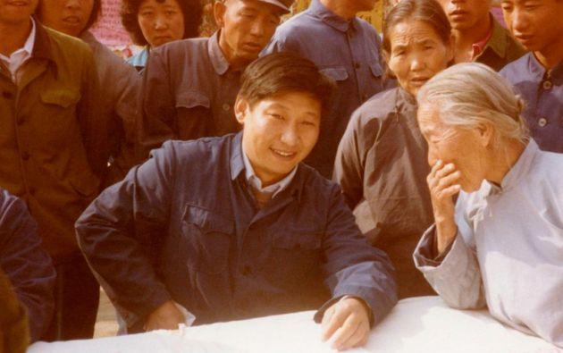 XI JINPING.  El presidente de China en 1983 fue jefe de partido del condado de Zhengding, provincia de Hebei.