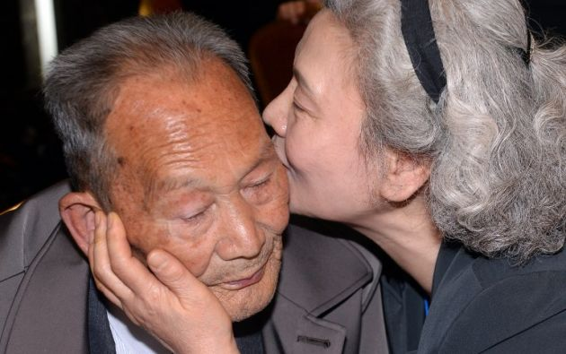 Unos 200 coreanos de ambas partes se reunieron. Foto: AFP