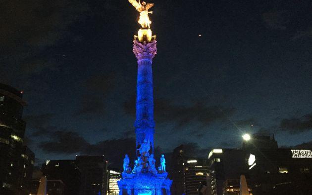 Ángel de la Independencia, México.
