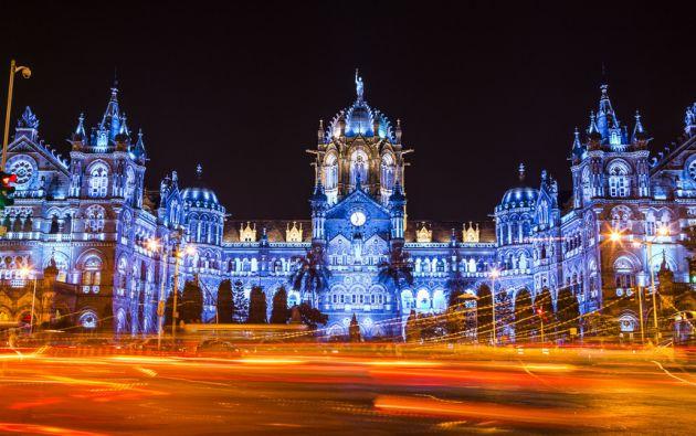 Chattrapati Shivaji Terminus en Mumbai, India.