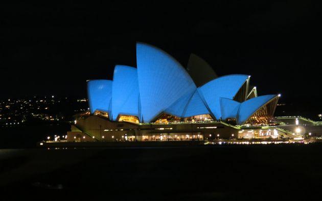 Teatro de la Ópera de Sídney, Australia.