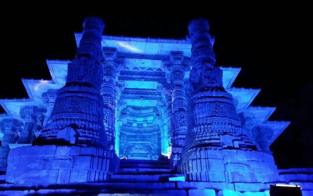 Templo del Sol Modhera en Gujarat, India.