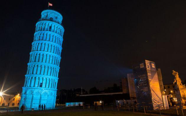 Torre de Pisa, Italia.