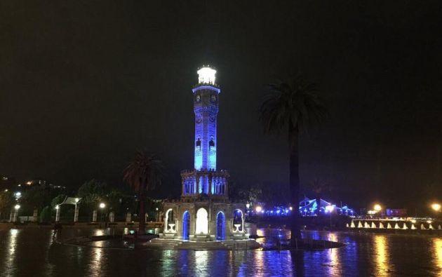 Torre del Reloj de Izmir, Turquía.