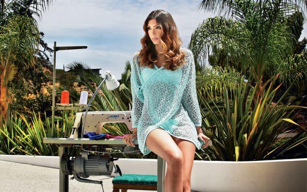 Los trajes de baño creados por Clío Olaya los usaron celebridades como Jessica Alba, Paris Hilton y Cameron Díaz.