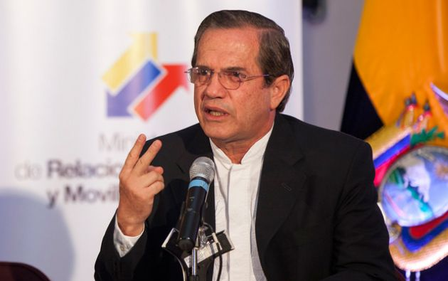 Canciller Ricardo Patiño. Foto: FLICKR/Cancillería de Ecuador
