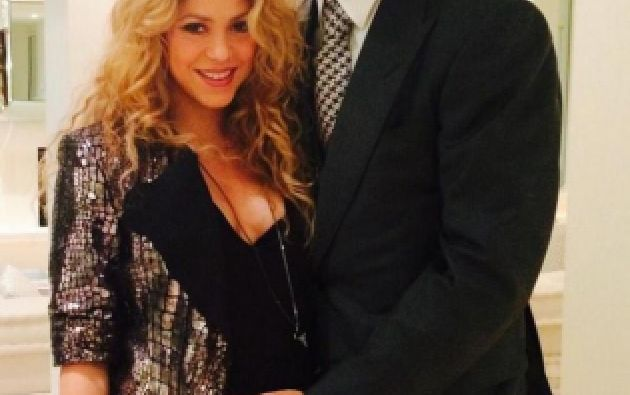 Shakira y Gerard Piqué esperan su segundo hijo. Foto: Twitter / Shakira