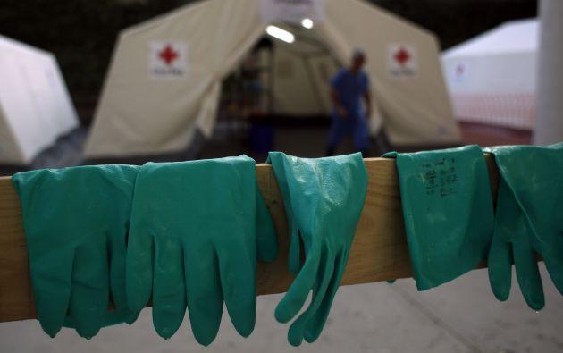Sindicato Unión Nacional de Enfermeras van a huelga nacional por ébola. Foto: REUTERS