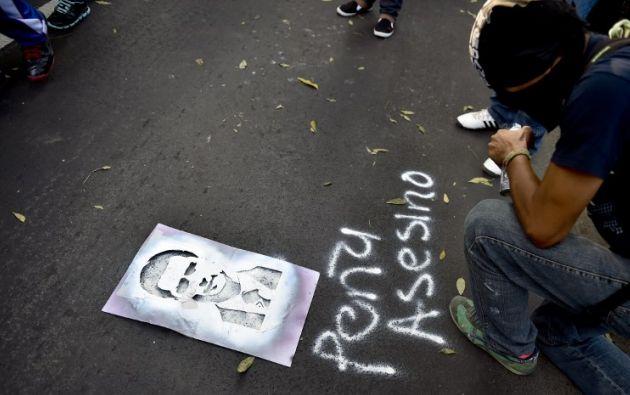 Es una de las peores crisis política que vive en su mandato. Foto: AFP