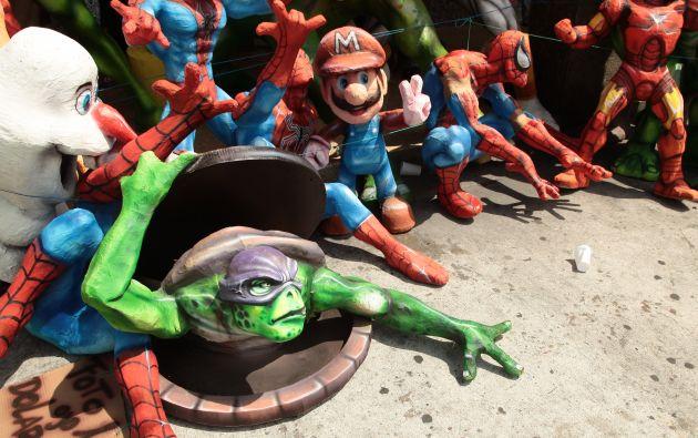 Las Tortugas Ninja son los monigotes más vendido.