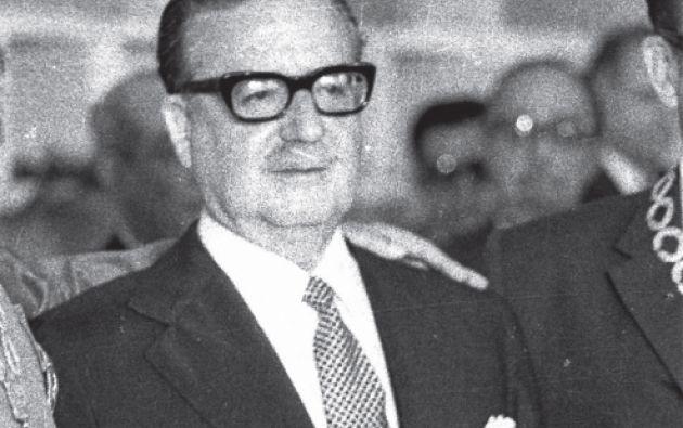 Salvador Allende, presidente de Chile de 1970 a 1973. Foto: Archivo Vistazo