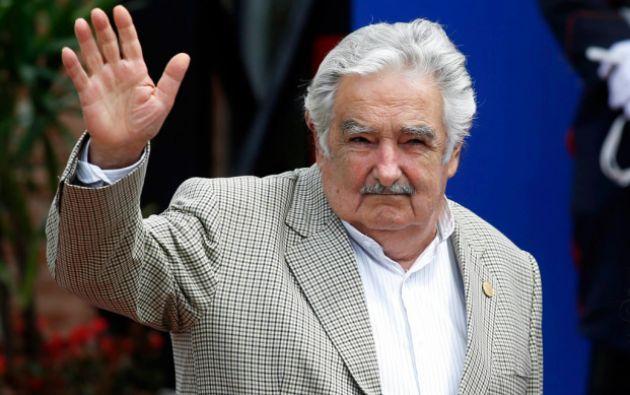 """""""... la verdadera fiesta debe ser la asunción del nuevo Gobierno"""", sostiene José Mujica. Foto: REUTERS"""