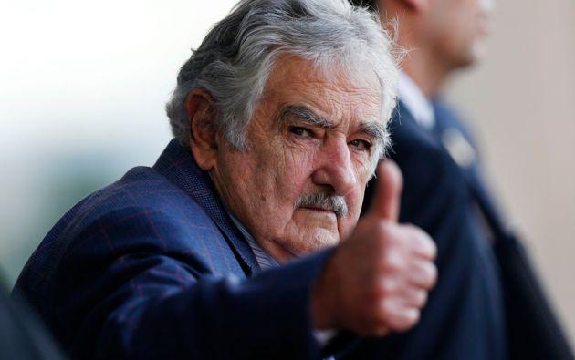 """´""""... estamos perdiendo la batalla contra las drogas y la criminalidad en el continente"""", dijo Mujica al presentar la idea. Foto: REUTERS"""