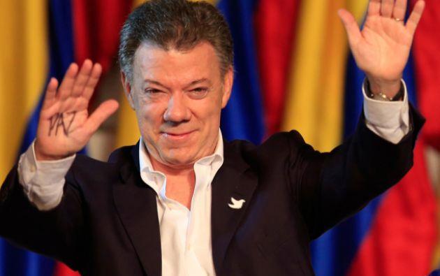 """El presidente Santos quiere hacer de 2015 """"el año de la paz"""". Foto: REUTERS"""