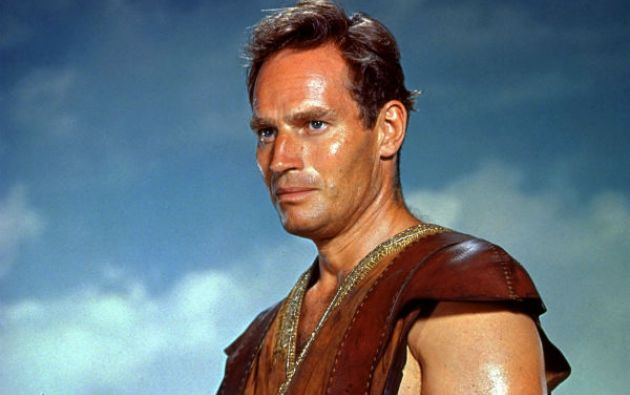 """La actuación de Charlton Heston en """"Ben-Hur"""" es una de las más destacadas de su carrera."""
