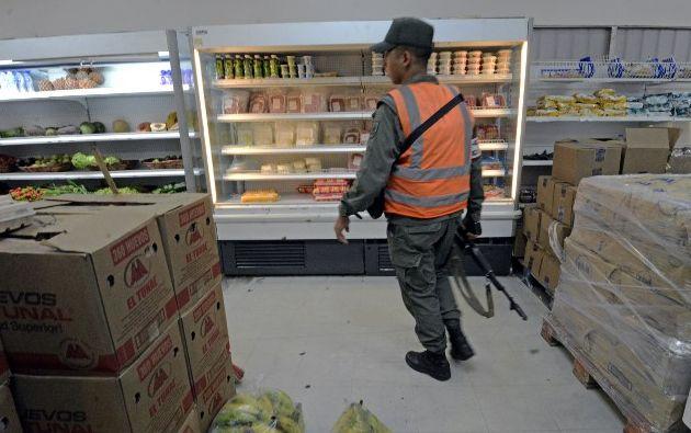 La cadena fue asumida por el gobierno el viernes. Foto: AFP