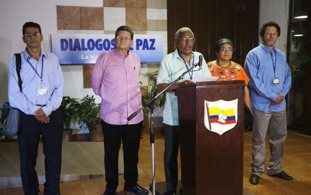 Joaquín Gómez, negociador de las FARC en un diálogo el pasado 2 de febrero. Foto: Archivo / REUTERS
