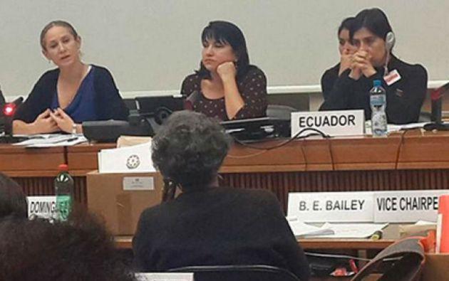 La presentación del informe se realizó ante el Comité de la CEDAW en Ginebra (Suiza).