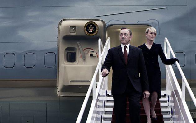 El matrimonio Underwood, una de las claves del éxito de la serie. Robin Wright interpreta a Claire.