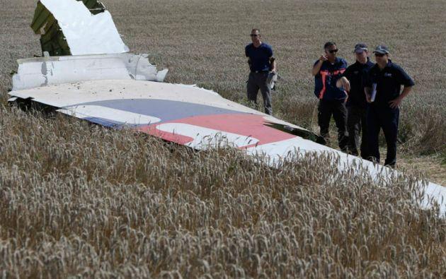 El informe de la IATA no incluye a las víctimas del vuelo MH17 de Malaysia Airlines, derribado en julio en Ucrania. Foto: REUTERS