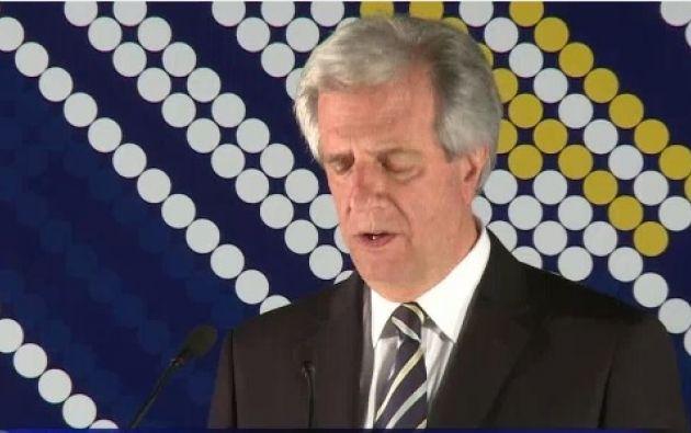 Tabaré Vásquez. Foto: Captura de video