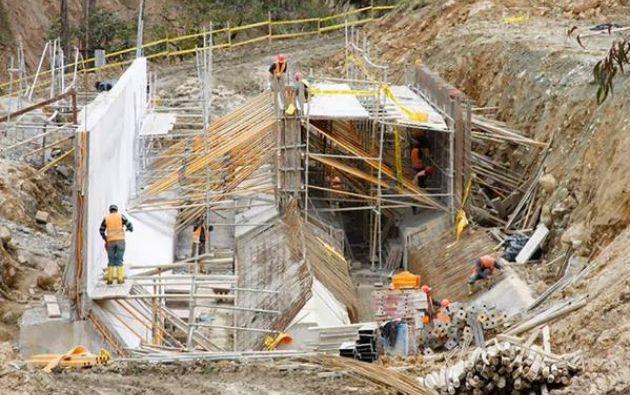 a construcción del proyecto Mazar Dudas inició en enero de 2012 y es una de las ocho que se construyen en el país. Foto: espectadorazogues.blogspot