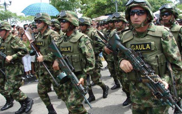 Imagen referencial. Foto: Twitter / Ejército de Colombia.