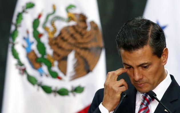 El 57 % de la población desaprobó la gestión de Peña Nieto, quien asumió la Presidencia de México el 1 de diciembre de 2012. Foto: REUTERS.